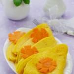 十分钟速成的黄金能量早餐——营养翻倍的胡萝卜玉米蛋饼