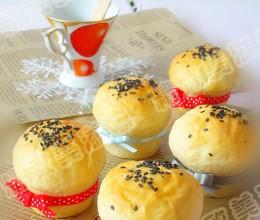 面包爱美丽------奶油奶酪小面包(汤种)