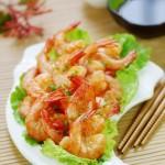 吃虾就要一口一个才过瘾——苏菜经典之香脆油爆虾