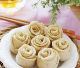 【豆渣的七十二变】如玫瑰般含苞待放——素雅风迷你豆渣小花卷