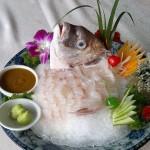 〖活鱼生吃之黑鲷〗——最残忍也最美味的吃鱼法