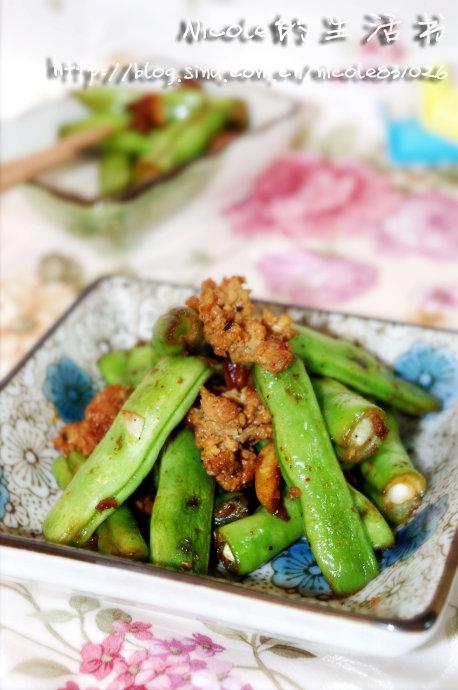 五分钟炒一盘可以吃的独门暗器——倾国倾城的辣炒刀豆