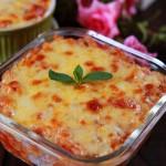我的招牌焗饭--蕃茄肉酱奶酪焗饭
