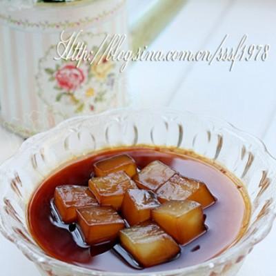 养血美容的简单快手甜品黑糖椰果布丁