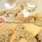 燕麦芝麻动物饼干