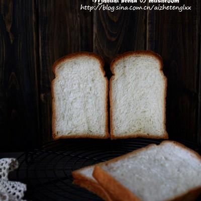 一款差点被我误解的面包。奶油吐司(中种法)