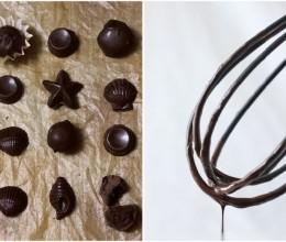 花色巧克力糖-烘焙勇者之调温巧克力