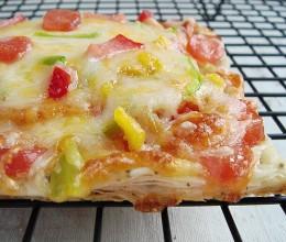 零厨艺新手绝不可错过的至尊美味:15分钟自制蛋黄起酥披萨