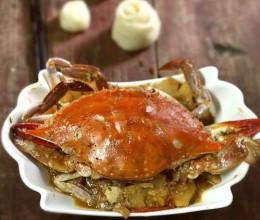 【田园烩蟹】——荤素一锅端的螃蟹极过瘾吃法