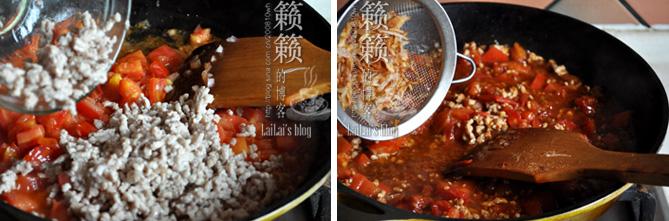【茄汁肉臊酱】好吃的面酱熬出来!