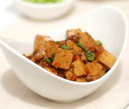 红烧豆腐不碎散的小窍门-【蚝油豆腐】懒人下饭菜
