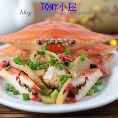 煮夫教你用一分钟如何拆解一只螃蟹----江南经典名菜梭子蟹炒年糕