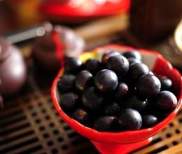 洗葡萄最关键的一步就是剪----秋高气爽去采摘