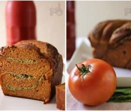 100%全麦番茄青酱乳酪包-怡红快绿