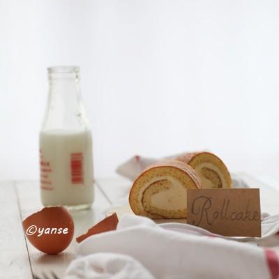 日本蛋糕名家蛋糕卷配方之二----松野明(全蛋蜂蜜牛奶版)