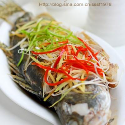 无与伦比的鲜美清蒸桂鱼