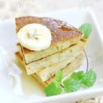幸福生活从完美早餐开始【蜜汁香蕉松饼】
