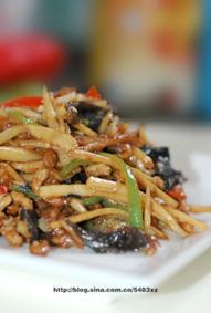 一勺清油定乾坤【小炒肉丝】—不挂淀粉怎样炒出好吃的肉丝?