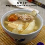 秋燥润肺有妙汤--沙参玉竹瘦肉汤