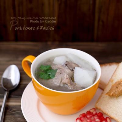 秋季最清润的暖胃汤品———大骨萝卜汤