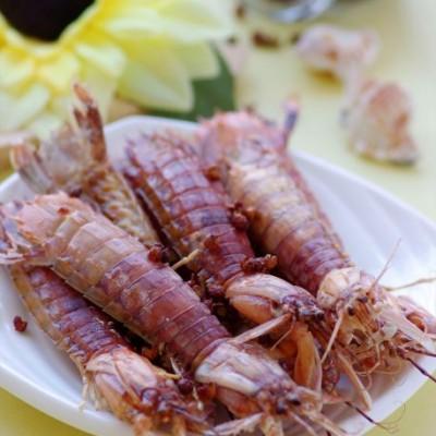 5分钟给皮皮虾做个排毒盐浴——微波版椒盐皮皮虾
