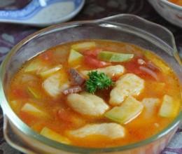 外国版的猫耳朵^^----开胃的意式土豆疙瘩汤