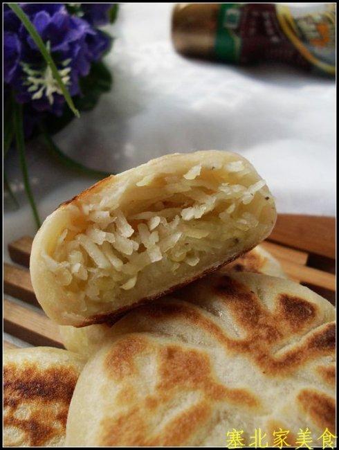 土豆控没试过的土豆吃法——与众不同的土豆丝饼