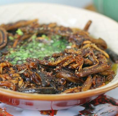 尝试换一种调味品会收获不一样的惊喜----响油鳝丝
