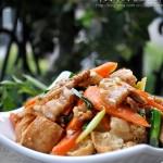 【油豆腐小炒肉】?居家常備的28式花樣豆腐吃法!