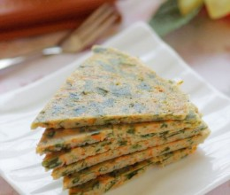 【豆渣的七十二变】六分钟可以变废为宝做早餐——混搭风海藻胡萝卜豆渣饼