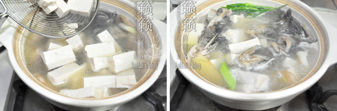【砂锅豆腐鱼】河水活鱼一招鲜!