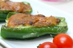 平底锅做出的经典美味奶酪香焗青椒
