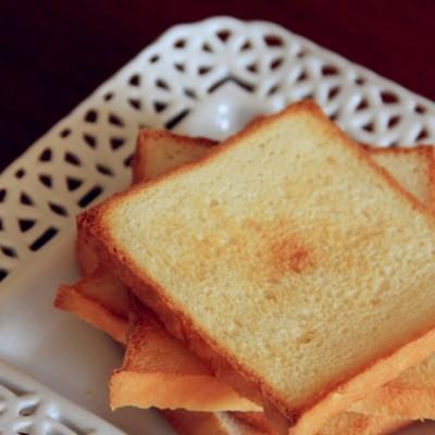 【直接法·北海道吐司】饺子粉也能做出奶香浓郁会拉丝的北海道!(附打蛋器和面全过程)