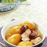 用秋天的橄榄煲时令去燥润喉汤——橄榄猪展汤
