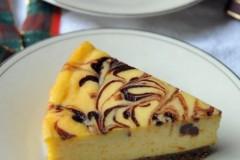 欲罷不能的高熱量----大理石南瓜巧克力乳酪蛋糕