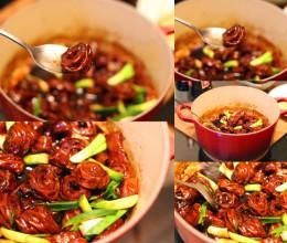 用最民间的顶级食材挑战百年老店的菜-----红焖大肠头