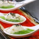 秋葵最保持营养的吃法——鱼茸蒸秋葵