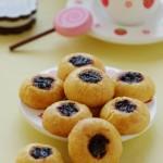 招待闺蜜的下午茶点心——洛神花果酱酥饼&可可双色卷心酥