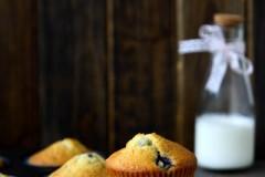 15分钟快手水果蛋糕,全麦蓝莓马芬(附冬天软化黄油的问题)