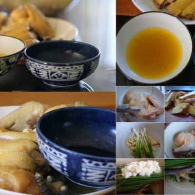 让一道菜充满着生命的继续战斗-----无水姜葱焗鸡