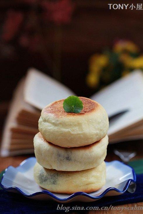 中西合璧的手法独创一款平底锅面饼面包
