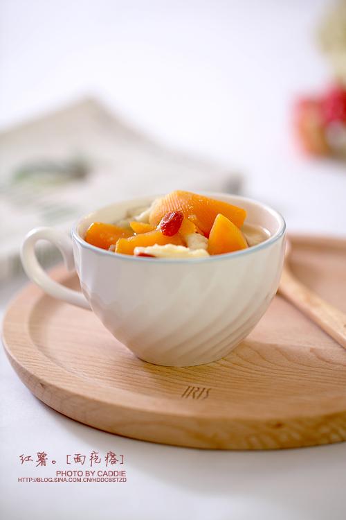 抵御寒冷的早餐———红薯面疙瘩