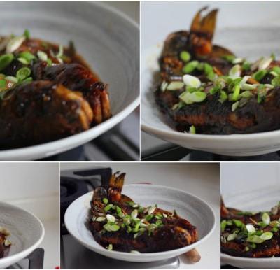 做出原味的红烧鱼其实不需要加水----红烧昂刺鱼(附送做鱼不腥的诀窍)