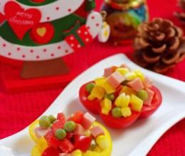 【中西合璧过圣诞】圣诞序曲——挑动味蕾的缤纷火腿彩椒盅