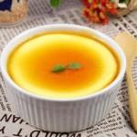 3元成品在家就能吃上小资时尚版的甜品——【橙香焦糖牛奶炖蛋】