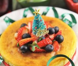 圣诞芝士蛋糕--给蛋糕穿身儿圣诞装