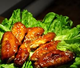 【酱香鸡翅】六十五岁老外婆也能搞掂的烤箱菜!
