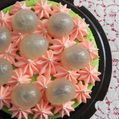 给朴实的芝士蛋糕加件漂亮的衣裳吧:班兰芝士蛋糕