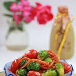 圣诞餐桌上少不了这盘色彩艳丽的维C果菜