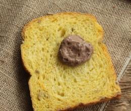 """一款营养丰富的带""""色""""蔬果面包【南瓜葵花籽吐司】"""
